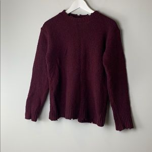Alexander Wang Distressed Sweater Extra Small